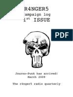 Campaign Log 1