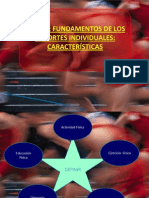 Fundamentos de Los Deportes Individuales