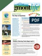 LongmontLife Newsletter - March April 2011