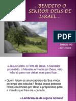 BENDITO O SENHOR DEUS DE ISRAEL-sessão3