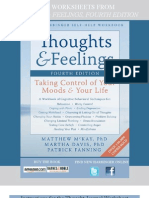 Thoughts and Feelings, 4th edition - sample worksheets
