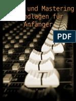 Mixing Und Mastering Grundlagen Fuer Anfaenger 1
