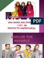 Emprendimiento Proyecto Mio II