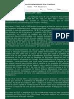 Texto Sobre Segundo Governo Lula
