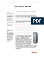 Oracle Db_machine V2 Datasheet