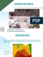 Erosion en Rios