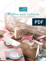 2006 Winter Mini Stampin' Up Catalog