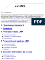 [Ebook - French - Francais] Cours UNIX en Français 72 Pages [informatique][pdf]