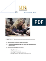 MDHA 2011 State of Homelessness Report