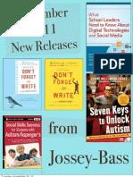 New Releases Nov 2011