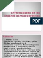 Enfermedades de los órganos hematopoyéticos