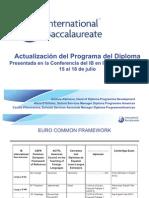Actualizacion Del Programa Del Diploma