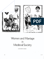 Women and Marriage in Medieval Society