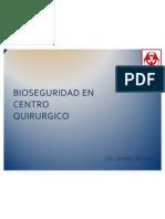 Bioseguridad en Centro Quirurgico