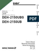 Pioneer-manual ub - Eng - Spa - Por