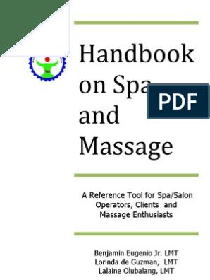 HIMAS Handbook on Spa and Massage   Massage   Human