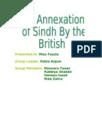 Annexation of Sindh
