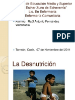 La Desnutrici+¦n
