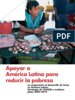 COSUDE - Apoyar a América Latina Para Reducir La Pobreza