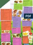 Thai The Dine-In Menu