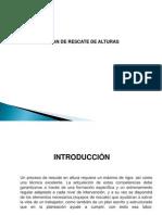 Presentacion Plan de Rescate Alturas