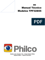Tpf-34s31, Tpf32s55 e Tpw3280 Manual técnico