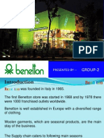 Benetton Supply Chain Management