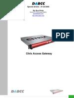 Citrix Access Gateway