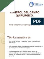 Control Del Campo Quirurgico