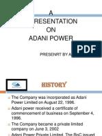 PPT OF ADANI M