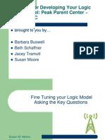 Fine Tuning Your Logic Model #3