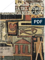 Oviedo - Breve historia del ensayo hispanoamericano