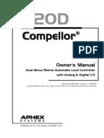 Aphex 320D User Manual