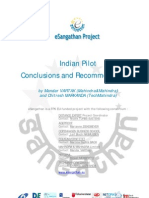 eSangathan-Indian Pilot-Conclusions and Recommendations