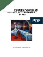 dESCRIPCION DE PUESTOS hOTEL Y rESTAURANTE