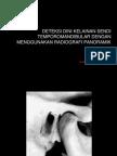 Deteksi Dini Kelainan Tmj Seminar Radio Diagnosis in Dentistry