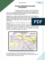Import an CIA de La Geologia en Las Aguas Subtarrenas