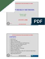 Ship Design Method