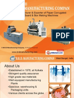 B.R.D Manufacturing Company Kolkata India