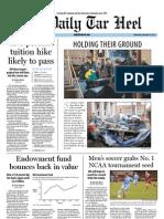 The Daily Tar Heel for November 16, 2011