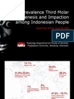 Prevalence Third Molar Agenesis and Impaction among Indonesian People