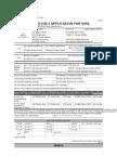 Skorean Visa Application Form