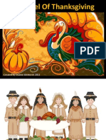 A Kernel of Corn Thanksgiving PowerPoint