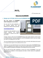 Kleemann NewsFax/Mail (11/2011) english version