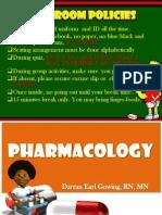 Nursing Pharmacology 2011