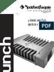 Rockford Fosgate Punch 400.4 Manual