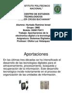 Aportaciones de La Electronic A Digital a La Tecnologia
