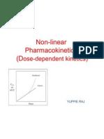 Non Linear Pharmaco kinetics