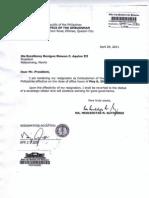 20110429 Resignation of Gutierrez BSA