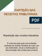 Da RepartiÇÃo Das Receitas TributÁrias - 6º Sem